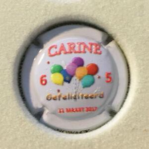 Capsule Champagne NOWACK N°07B 65 ans Carine