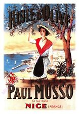 CP AFFICHE REPRODUCTION HUILE D OLIVE MUSSO  Edt CARTEXPO 10780