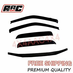 Bonnet Protector & Weathershields Window Visors for Holden Colorado RC 2008-2011