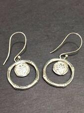 John Hardy Sterling Silver Bamboo Earrings