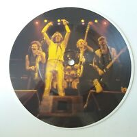 """Saxon - And The Bands Played On - Vinyl 7"""" Picture Disc Single Original EX+"""