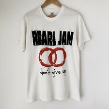 1992 Pearl Jam Dont Give Up Vintage Tour Band Shirt 90s 1990s Soundgarden Grunge