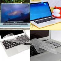 """Silicona Funda Cubierta De Protectores de teclado piel Para Macbook 13""""15""""17""""Air"""