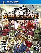 Aegis of Earth: Protonovus Assault (PlayStation Vita, 2016) PS VITA GAME + CASE