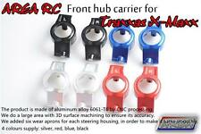 1/5 Traxxas X-Maxx Front Hub Carrier x2pcs Alloy Silver by Area RC