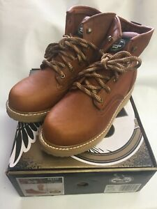 """Georgia Boot Men's 6"""" Barracuda Gold G6152 Sizes 8-13 Med & Wide"""