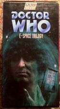 """Doctor Who - E-Space Trilogy"" VHS 3-Tape Box Set BBC Video"
