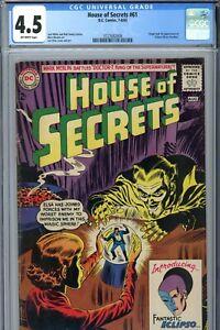 DC House of Secrets #61 CGC 4.5 1st Eclipso