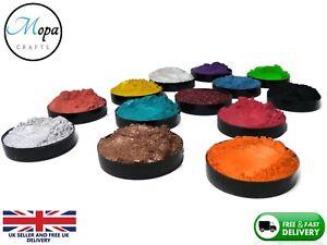 Premium Pearl Shimmer Mica Metallic Epoxy Resin Pigment Powder Dye Art&Craft
