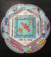 Western Los Angeles Council 2017 BSA Jamboree 7 Patch JSP Monopoly Limited Set