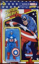 "Hasbro Kenner Marvel Legends Retro 3.75"" Captain America Action Figure"