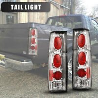 Tail Lights for 95-97 Nissan Pickup SE/XE 86-94 D21 Altezza 1 Pair Chrome/Clear