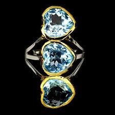 Topaz Statement Handmade Fine Gemstone Rings
