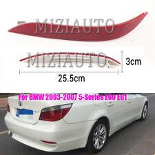 For BMW 03-07 5 Series E60 E61 525i 528i 530i Rear Bumper Reflector Light Tail L