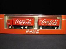 ALBEDO 400114 Volvo F 12 Getränkekoffer-Hängerzug Coca-Cola NEU&OVP X07-0103