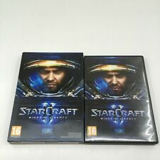 Starcraft 2 II Wings of Liberty PC Game French BOX & MANUAL ONLY - NO GAME