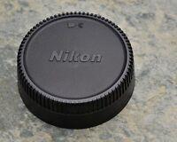 Excellent Genuine Nikon NIKKOR LF-1 Rear Lens Cap F Mount AF-S AF Ai-S (#1497)