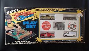 1981 ERTL SMOKEY and the BANDIT 2 PLAY SET diecast DIE CAST 1/64 car toy MIB HTF