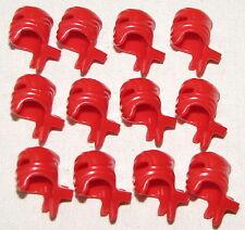 LEGO LOT OF 12 NEW RED NINJA HEADWRAPS WRAPS HEADGEAR NINJAGO W/ SWORD HOLDER