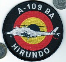 NATO HIRUNDO Army Belgium German  Air Force Pilot Helicopter A109 Squadron Patch