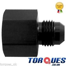 AN -10 Female AN -6 Male Straight Reducer Adapter Black