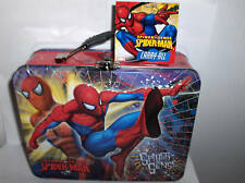 Spider-Man( Spider Sense ) Raised Graphic`Metal Lunchbox,New.LooK>> >Free To Us