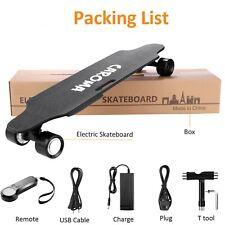 700W Elektrisch Elektro E-Skateboard Longboard mit Fernbedienung Doppelmotor NEU