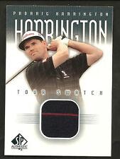 ~ 2001 Upper Deck PADRAIG HARRINGTON Patch ~ SP Authentic ~