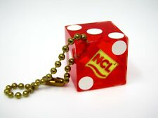 Vintage Collectible Keychain: NCL Norwegian Cruise Lines Red Dice Design