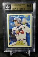 2016 Topps Heritage Minors Ronald Acuna Jr. BGS 9.5 True Gem