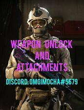[PS4,XBOX,PC] Call Of Duty Modern Warfare Weapon Unlock And Attachments COD MW
