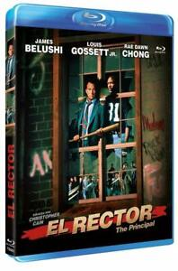 The Principal (1987) Blu Ray Jim Belushi, Louis Gossett Jr. El Rector