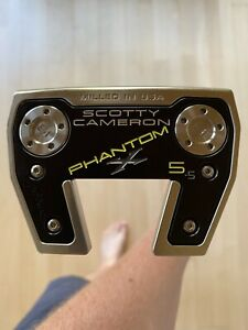 """Scotty Cameron Phantom X 5.5 Putter 34"""" 2021 Sold Out"""