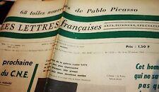 LES LETTRES FRANCAISES No. 1.012, du 16 au 22 janvier 1964