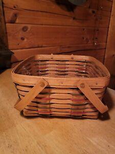 1996 Longaberger Traditions Woven Cake Basket 11657