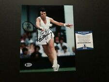 Billie Jean King Rare! signed autographed tennis 8x10 photo Beckett BAS coa