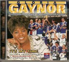 CD  Gloria GAYNOR    IT'S MY TIME - Ex Etat
