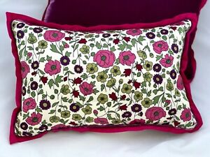 Liberty of London for Target TOSS PILLOW Purple Satin Velvet Feather 2 available
