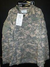 ARMY FRACU NOMEX FLAME RESISTANT ACU DIGITAL CAMO JACKET LARGE LONG USGI SOF SF
