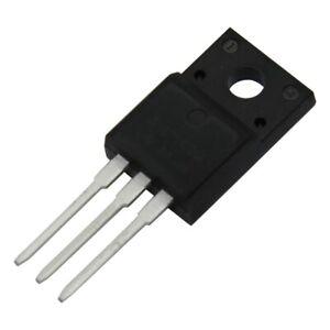 2X AOTF8N65 Transistor: N-MOSFET unipolar 650V 5.2A TO220F ALPHA & OMEGA SEMICON