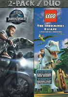 JURASSIC PARK / LEGO - THE INDOMINUS ESCAPE (2-PACK) (BILINGUAL) (DVD)