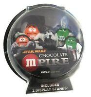 Hasbro Star Wars M&M's Chocolate Mpire Figures Luke Skywalker Princess Leia New