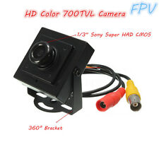 700TVL PAL High Resolution 1/3'' CMOS Mini CCTV Video FPV Board Camera & Cable