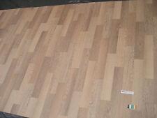7252 PVC Belag Rest 161x300 cm Bodenbelag Eiche Holzdekor robuster Boden + Vlies