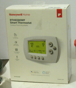 Honeywell Home Wi-Fi 7-Day Programmable Thermostat (RTH6580WF), Requires C