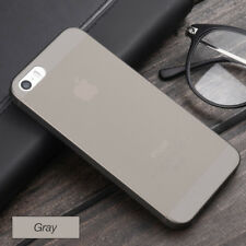 For Apple iPhone 5 5s SE Case Ultra thin Slim Matte Transparent Shockproof Cover