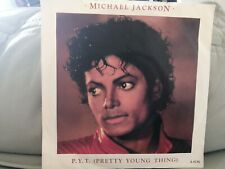 MICHAEL JACKSON - P.Y.T.PRETTY YOUNG THING - 7 INCH SINGLE - PAPER LABELS - EPIC