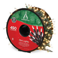 Holiday Wonderland: 450 Mini Incandescent Christmas Light Set: Clear, Multi