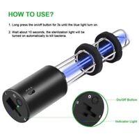 portable UV lamp ozone disinfection UV germicidal lamp wardrobe UV sterilizer