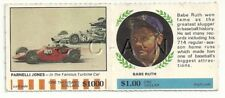 1968- Standard Oil Company- AMOCO- Babe Ruth- Winners Circle- Parnelli Jones